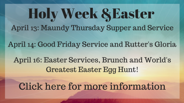 Holy Week and Easter (3)