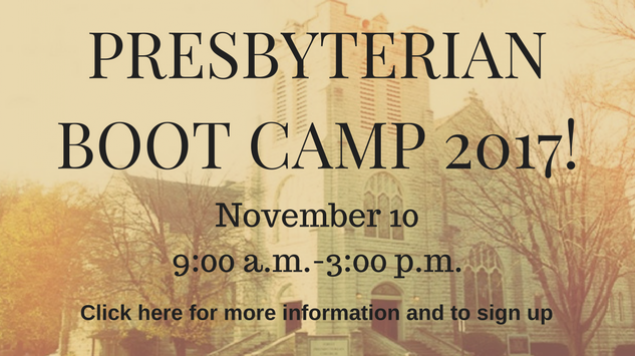 Presby Boot camp 2017!
