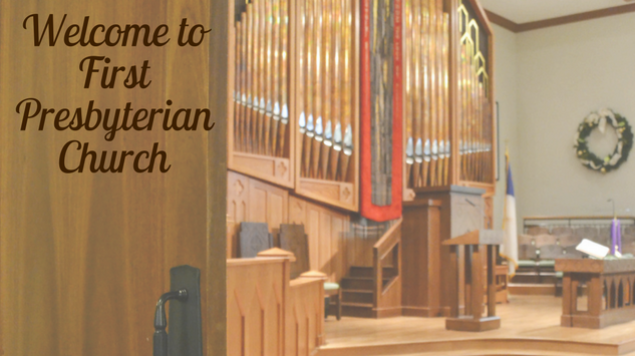 Welcome to First Presbyterian Church (2)