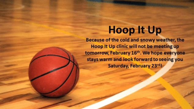 Hoop It Up Cancelled